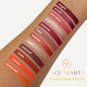 Ace Beaute – Scarlet Dusk Eye Shadow Palette